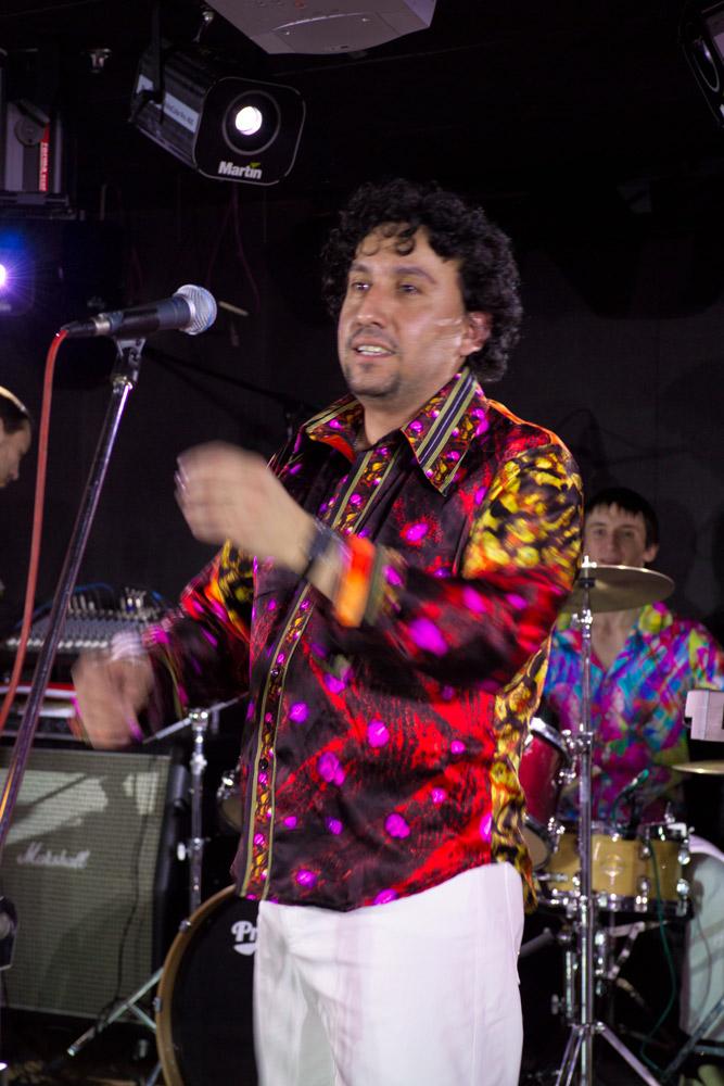 группа HABANA-MOSCOW. Латиноамериканский вокалист.