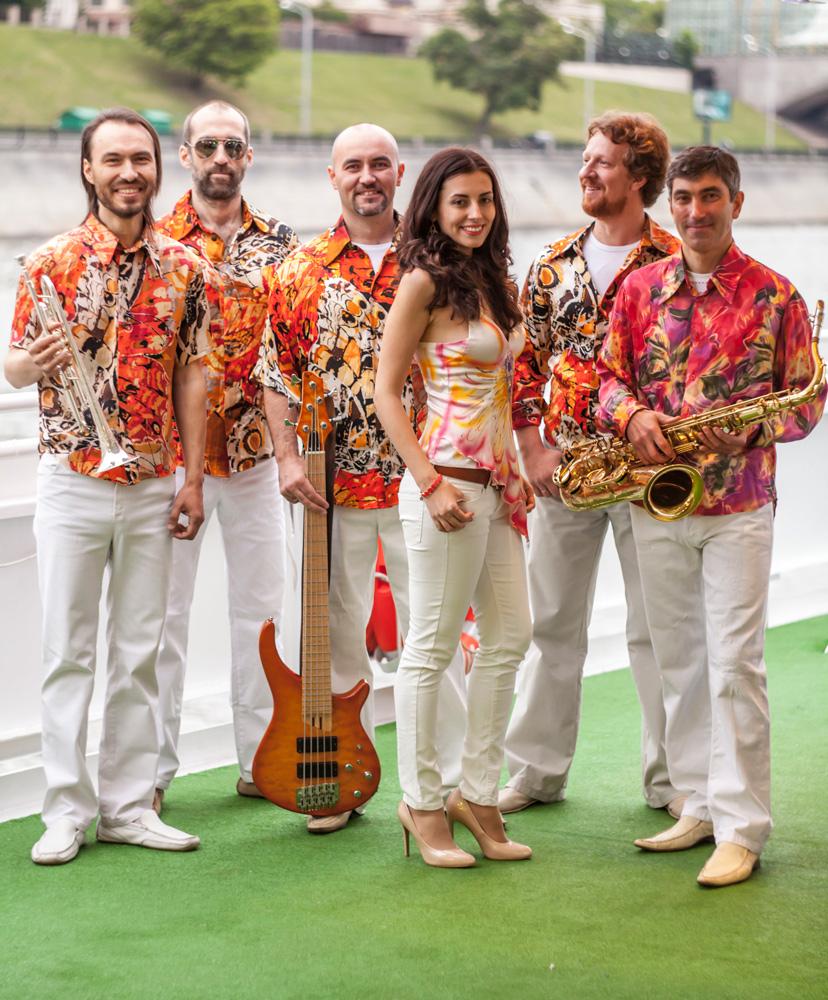кавер-группа HITOBILLY программа  Euro-dance.